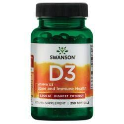 Swanson PremiumVitamin D-3 - Highest Potency