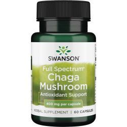 Swanson PremiumFull Spectrum Chaga Mushroom