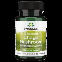 Swanson Premium Full Spectrum Chaga Mushroom