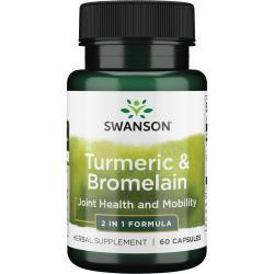 Swanson PremiumFull Spectrum Turmeric & Bromelain