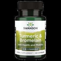 Swanson Premium Full Spectrum Turmeric & Bromelain