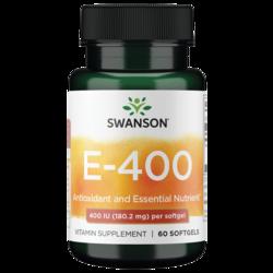 Swanson Premium Vitamin E 400 IU