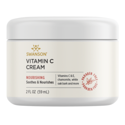 Swanson PremiumVitamin C Cream, 98% Natural