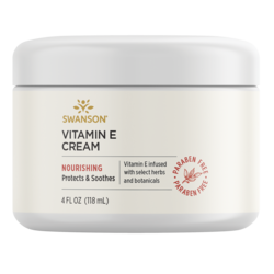 Swanson PremiumVitamin E Cream, 98% Natural
