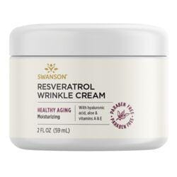 Swanson PremiumResveratrol Wrinkle Cream with Hyaluronic Acid