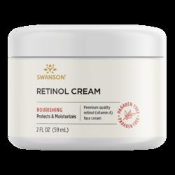Swanson Premium Retinol Cream, 97% Natural