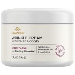 Swanson PremiumWrinkle Cream With DMAE & CoQ10