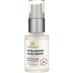 Swanson Premium 99% Natural Hyaluronic Acid Serum