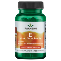 Swanson Premium Vitamin E Mixed Tocopherols