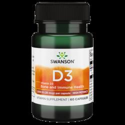 Swanson Premium High Potency Vitamin D-3