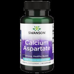 Swanson PremiumCalcium Aspartate (200 mg Elemental)
