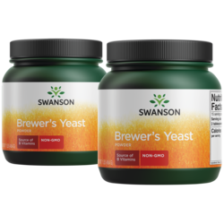 Swanson Premium 100% Pure Brewer's Yeast Powder GMO-Free