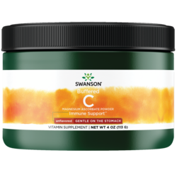 Swanson Premium Buffered Magnesium Ascorbate Vitamin C Powder