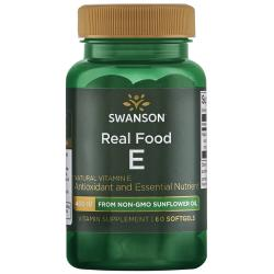 Swanson PremiumNatural Vitamin E from Non-GMO Sunflower Oil