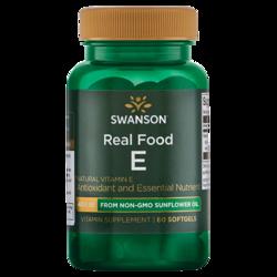 Swanson Premium Natural Vitamin E from Non-GMO Sunflower Oil
