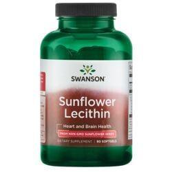 Swanson PremiumSunflower Lecithin, Non-GMO