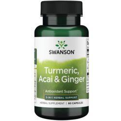Swanson PremiumFull Spectrum Turmeric, Acai & Ginger