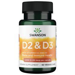 Swanson PremiumVitamin D Complex with Vitamins D-2 & D-3