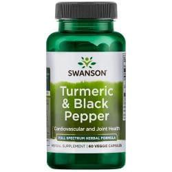 Swanson PremiumTurmeric & Black Pepper