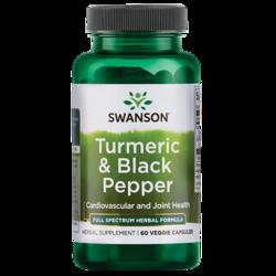 Swanson PremiumFull Spectrum Turmeric & Black Pepper