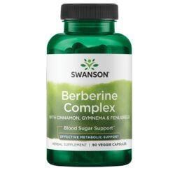 Swanson PremiumBerberine Complex with Cinnamon, Gymnema & Fenugreek