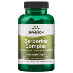 Swanson PremiumBerberine Complex w/Cinnamon, Gymnema & Fenugreek