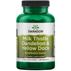 Swanson PremiumMilk Thistle Dandelion & Yellow Dock