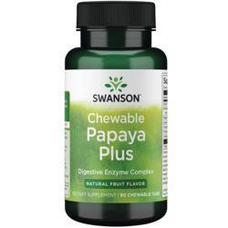 Swanson PremiumChewable Papaya Plus