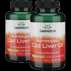 Swanson Premium Cod Liver Oil