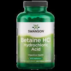 Swanson PremiumHydrochloric Acid w/Pepsin