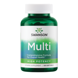 Swanson Premium High Potency Softgel Multi