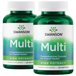 Swanson PremiumHigh Potency Softgel Multivitamin