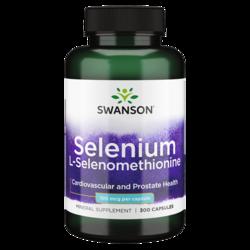 Swanson Premium Selenium (L-Selenomethionine)