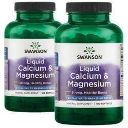 Swanson PremiumLiquid Calcium & Magnesium