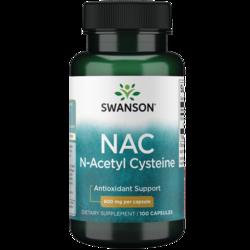 Swanson Premium NAC N-Acetyl Cysteine