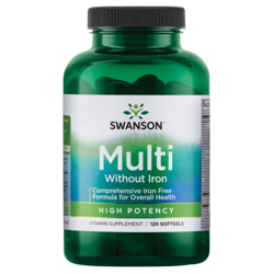 Swanson PremiumMulti without Iron, High Potency