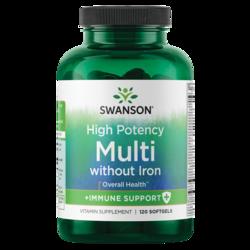 Swanson Premium High Potency Softgel Multi Iron Free