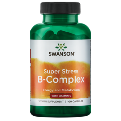 Swanson Premium Super Stress Vitamin B-Complex with Vitamin C