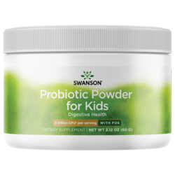Swanson ProbioticsProbiotic Powder with FOS for Kids