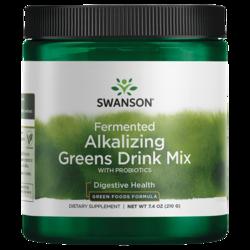 Swanson pH Balance Fermented Alkalizing Greens Drink Mix