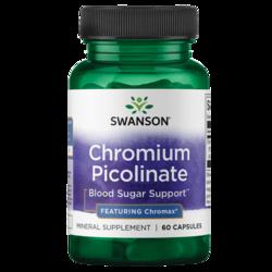 Swanson Best Weight-Control Formulas Chromium Picolinate