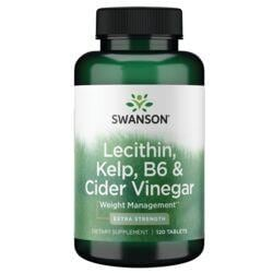 Swanson Best Weight-Control FormulasExtra Strength Lecithin, Kelp, B-6 & Cider Vinegar