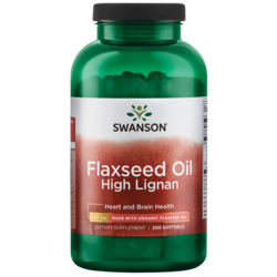 Swanson EFAs Flaxseed Oil, High Lignan (OmegaTru)