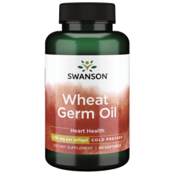 Swanson EFAs100% Natural Cold-Pressed Wheat Germ Oil