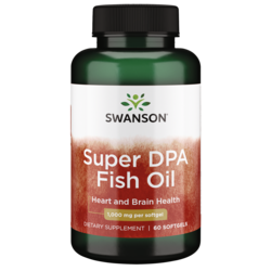 Swanson EFAsSuper DPA Menhaden Fish Oil