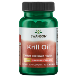 Swanson EFAsMaximum Strength Krill Oil