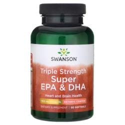 Swanson EFAsTriple Strength Super EPA & DHA - Enteric Coated