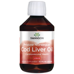 Swanson EFAsPristine Norwegian Cod Liver Oil