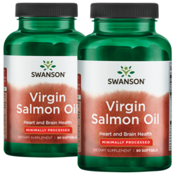 Swanson EFAsVirgin Salmon Oil (ecOmega)