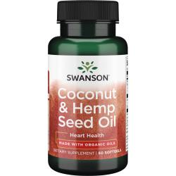 Swanson EFAsMade with Organic Coco Hemp Coconut Oil & Hemp Seed Oil